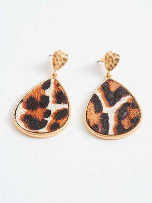 Running Wild Leopard Earrings - A'Beautiful Soul