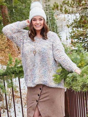 Lovely Lash Tunic Sweater - A'Beautiful Soul