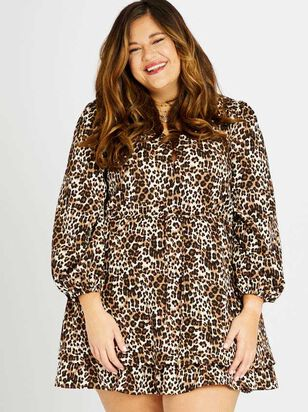 Lula Leopard Dress - A'Beautiful Soul