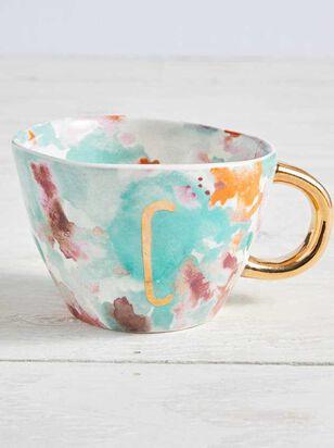 Hello Beautiful Monogram Mug - C - A'Beautiful Soul