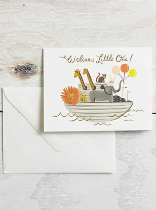 Tullabee Welcome Little One Card - A'Beautiful Soul
