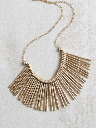 On the Fringe Necklace - A'Beautiful Soul