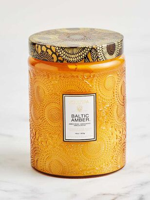 Baltic Amber Jar Candle - A'Beautiful Soul