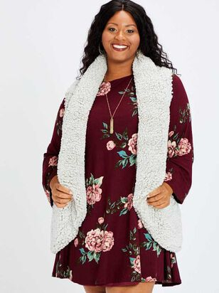 Wubby Waterfall Outerwear Vest - A'Beautiful Soul