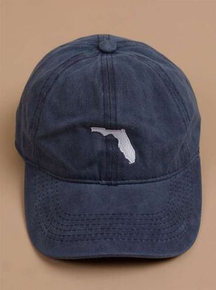 Our Home Canvas Baseball Hat – Florida - A'Beautiful Soul
