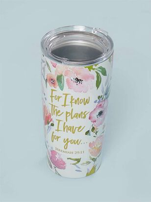Jeremiah 29:11 Tumbler - A'Beautiful Soul