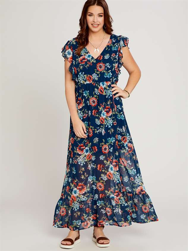Liv Maxi Dress - A'Beautiful Soul