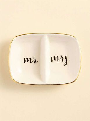 Mr. & Mrs. Ring Dish - A'Beautiful Soul