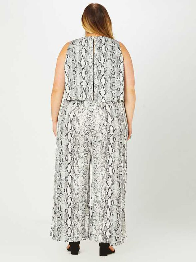Pria Snakeskin Jumpsuit Detail 4 - A'Beautiful Soul