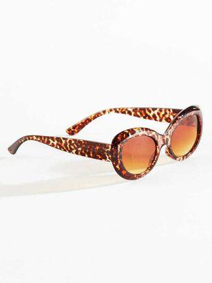 Vivi Leopard Sunglasses - A'Beautiful Soul