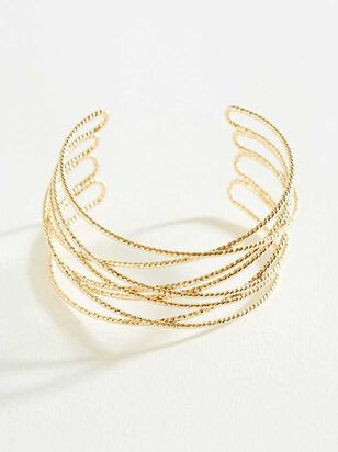 Wire Cuff Bracelet - A'Beautiful Soul