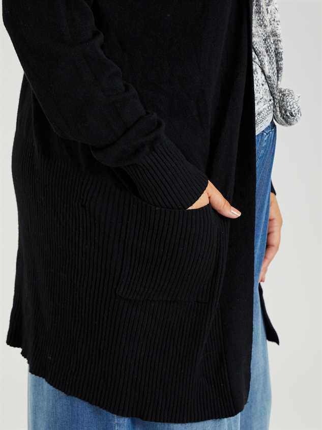 Mulberry Cardigan Sweater Detail 4 - A'Beautiful Soul