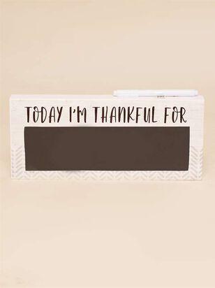 Thankful Chalkboard Sign - A'Beautiful Soul