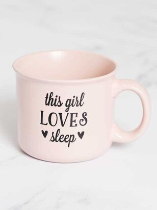 This Girl Loves Sleep Mug - A'Beautiful Soul