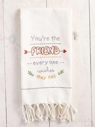 You're the Friend Hand Towel - A'Beautiful Soul