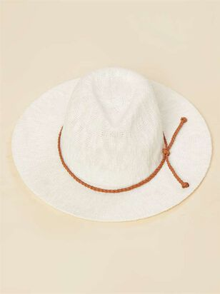Panama Hat - White - A'Beautiful Soul
