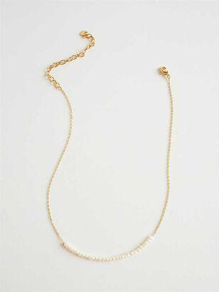 Sweet Cream Choker Necklace - A'Beautiful Soul