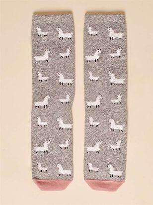 Llama Crew Socks - A'Beautiful Soul