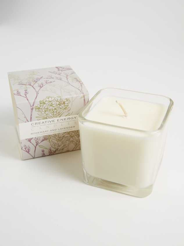 Rosemary & Lavender 10 oz Candle - A'Beautiful Soul