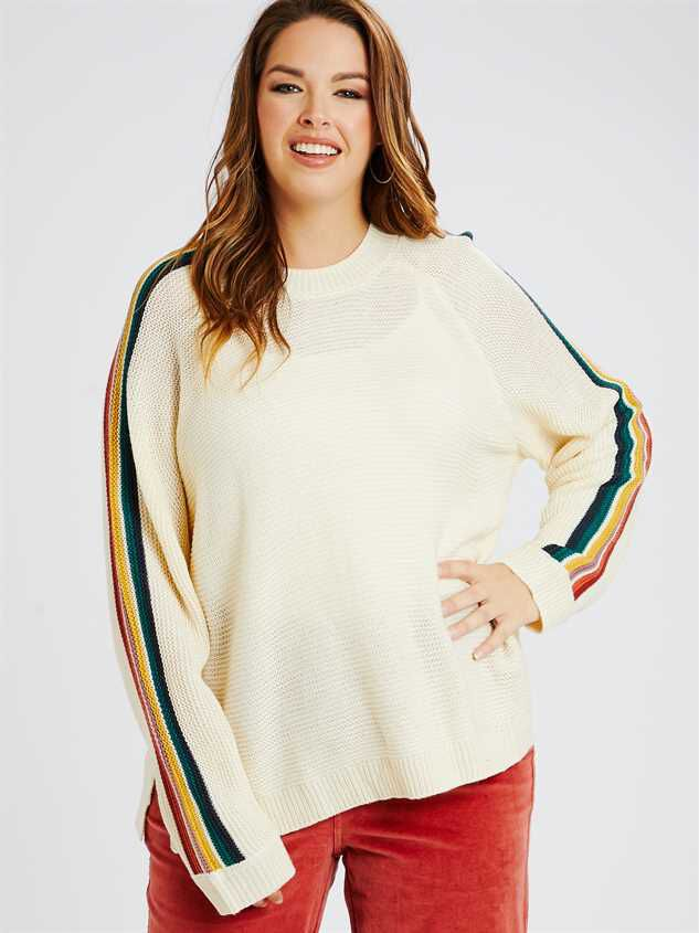 Over the Rainbow Sweater - A'Beautiful Soul