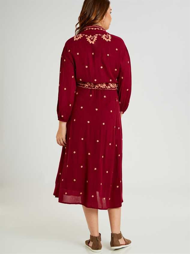 Josie Midi Dress Detail 3 - A'Beautiful Soul
