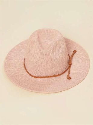 Panama Hat - Blush - A'Beautiful Soul