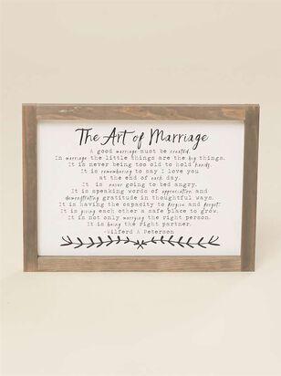 The Art Of Marriage Mini Wall Art - A'Beautiful Soul
