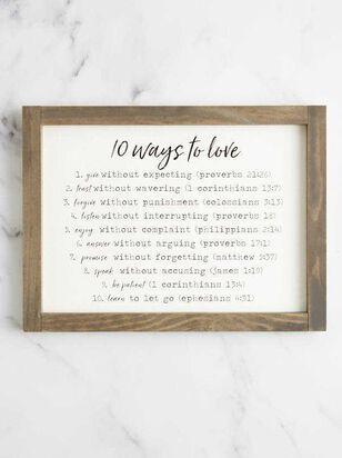 10 Ways to Love Wall Art - A'Beautiful Soul