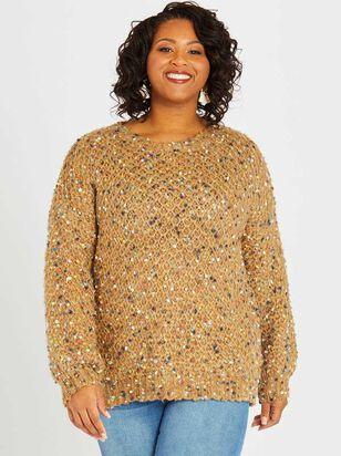 Cozy Confetti Sweater - A'Beautiful Soul