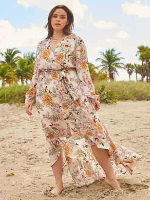 All About Florals Maxi Dress - A'Beautiful Soul