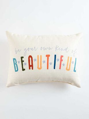 Your Own Kind of Beautiful Pillow - A'Beautiful Soul