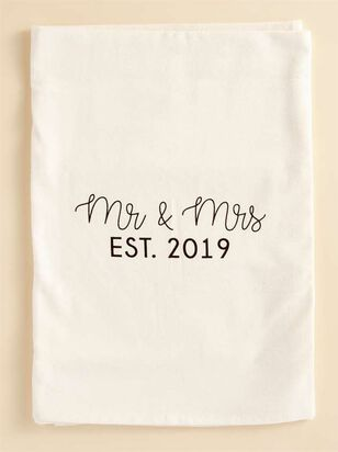 Mr. & Ms. EST. 2019 Hand Towel - A'Beautiful Soul
