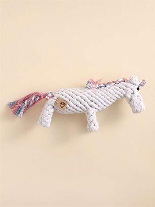 Unicorn Rope Dog Toy - A'Beautiful Soul