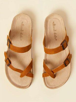 Bork Double Buckle Sandals - A'Beautiful Soul