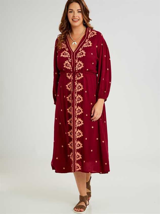 Josie Midi Dress - A'Beautiful Soul