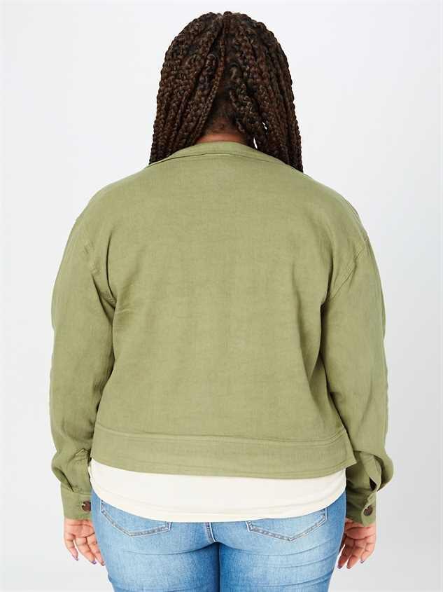 Bri Cropped Jacket Detail 3 - A'Beautiful Soul
