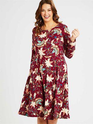 Wiley Midi Dress - A'Beautiful Soul
