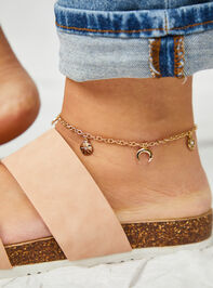Celestial Moon Anklet - A'Beautiful Soul