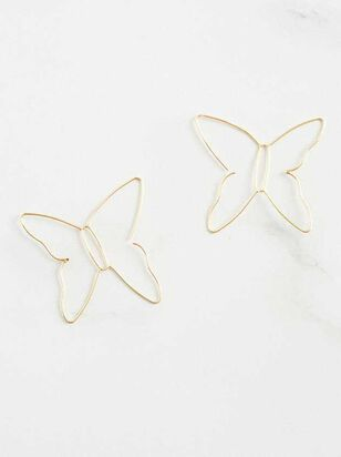 Butterfly Silhouette Earrings - A'Beautiful Soul