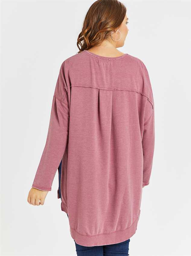 Weekender Tunic Top Detail 3 - A'Beautiful Soul