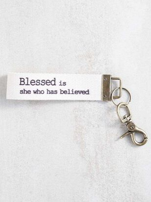 Blessed is She Keychain - A'Beautiful Soul