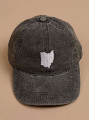 Our Home Canvas Baseball Hat – Ohio - A'Beautiful Soul