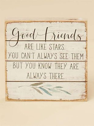 Friends are Stars Pallet Sign - A'Beautiful Soul