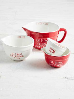 Christmas Calories Don't Count Measuring Cup Set - A'Beautiful Soul