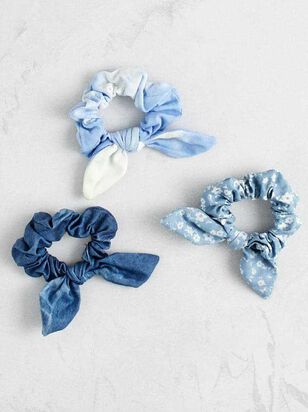 Feelin' the Blues Scrunchy Set - A'Beautiful Soul