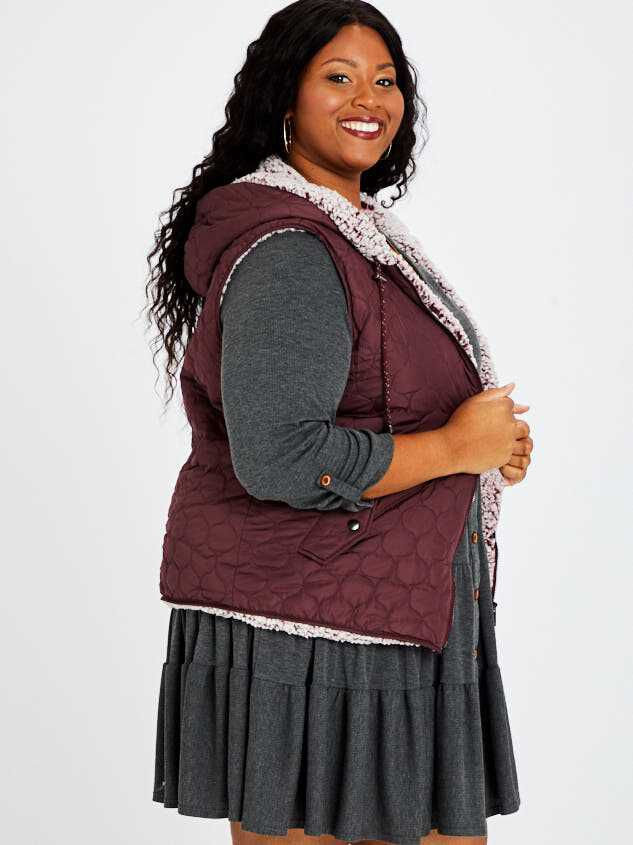 Carmen Outerwear Vest Detail 2 - A'Beautiful Soul