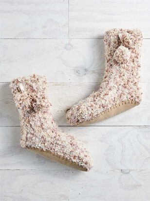 Marled Bootie Slippers - A'Beautiful Soul