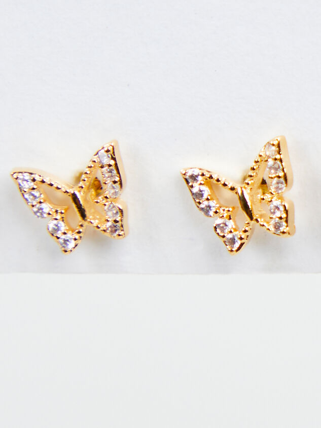 Butterfly Stud Set Detail 3 - A'Beautiful Soul