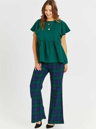 Bailey Plaid Pants - A'Beautiful Soul
