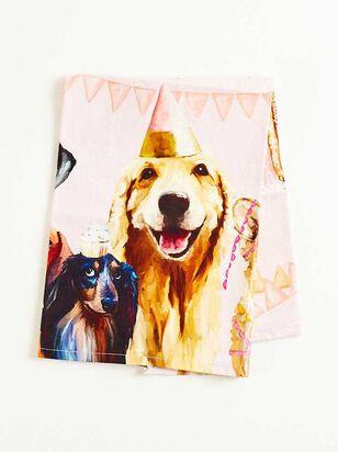 Dog Party Tea Towel - A'Beautiful Soul